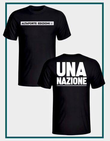t shirt UNA NAZIONE – Altaforte Edizioni