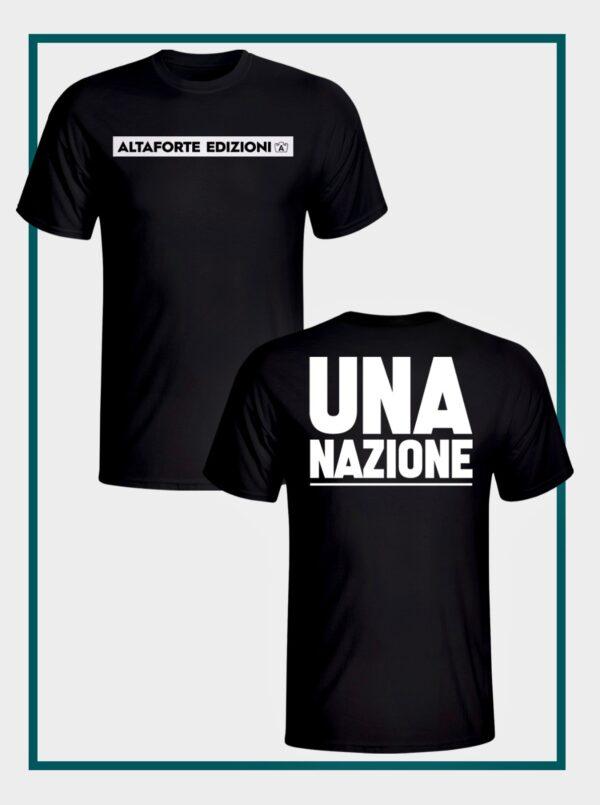 t shirt UNA NAZIONE - Altaforte Edizioni