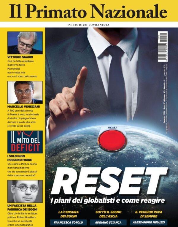 RESET - PRIMATO NAZIONALE GENNAIO 2021